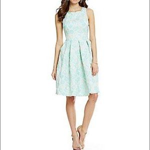 Eva Franco Floral Jacquard Juno Dress